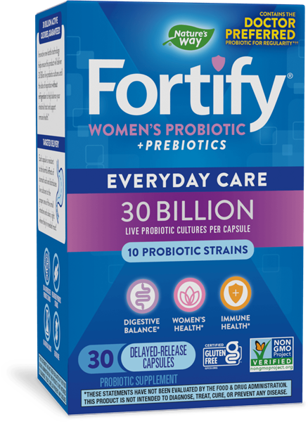 Fortify™ Women's 30 Billion Probiotic