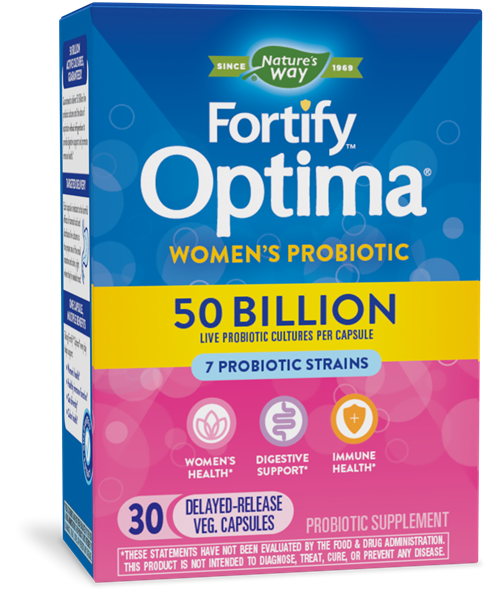 10336 - Fortify Optima Womens 50 Billion Probiotic