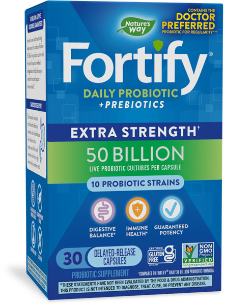 Fortify™ Daily 50 Billion Probiotic