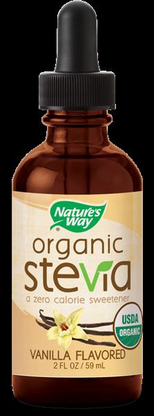 Organic Stevia Vanilla Nature S Way 174