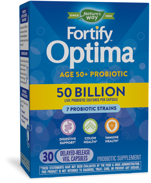 10762 - Fortify Optima Adult 50 50 Billion Probiotic