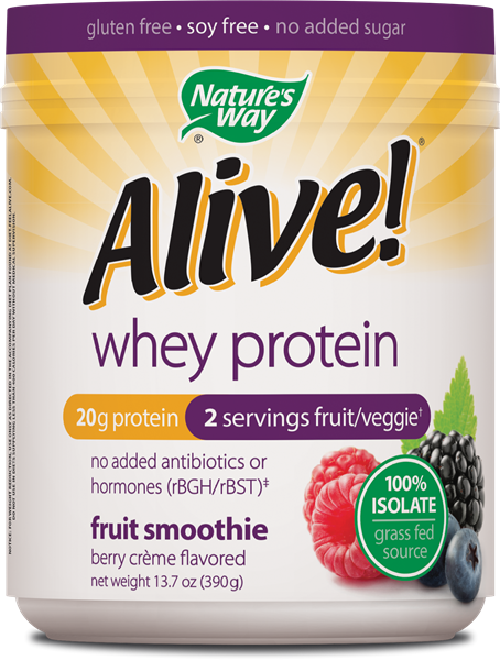10965 - Alive Whey Protein Berry