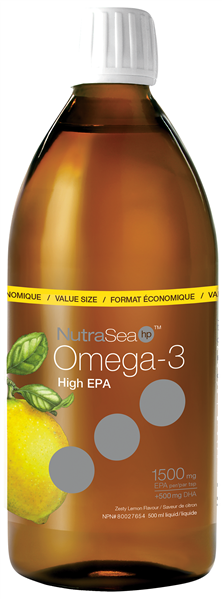 NutraSea® HP™ Omega-3, Lemon