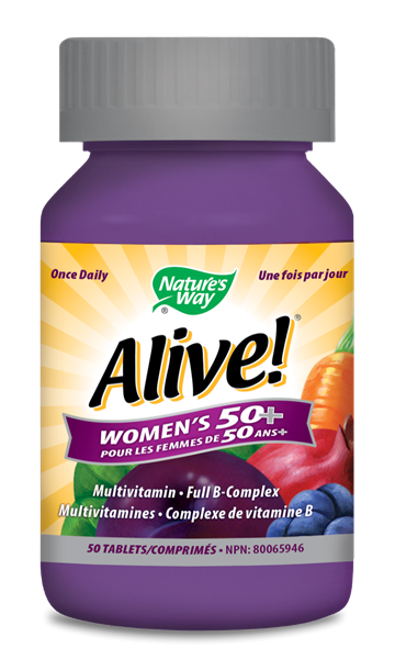 Alive!® Women's 50+ Once Daily