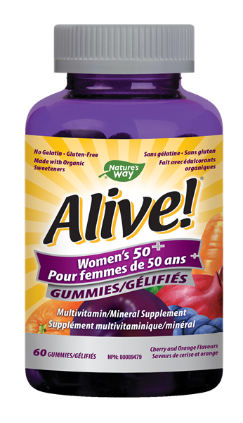 Alive!<sup>®</sup> Women's 50+