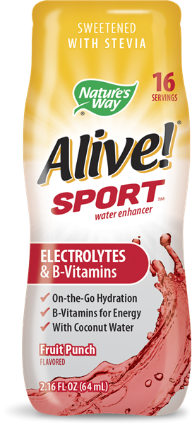 11242 - Alive Sport Water Enhancer Fruit Punch