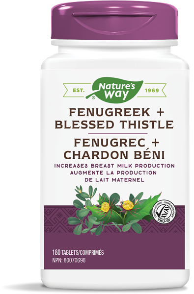 Fenugreek + Blessed Thistle