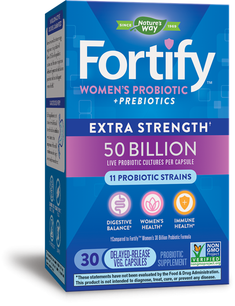 11548 - Primadophilus Fortify Womens 50 Billion Probiotic