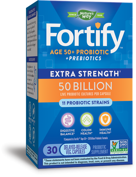 11549 - Fortify Age 50 50 Billion Probiotic