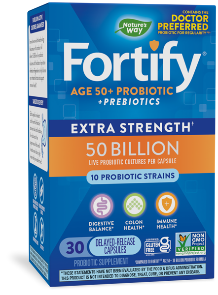 Fortify™ Age 50+ 50 Billion Probiotic