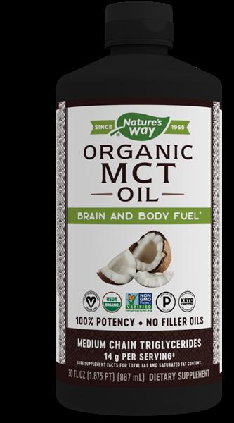 100 Organic Mct Oil 30 Oz Nature S Way 174