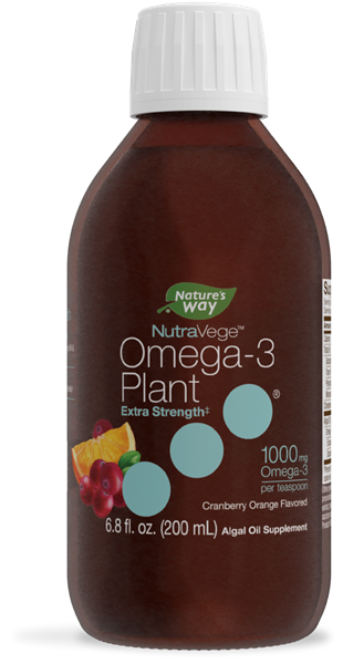 12325 - NutraVege Extra-Strength Cranberry Orange Flavored Omega-3 Plant