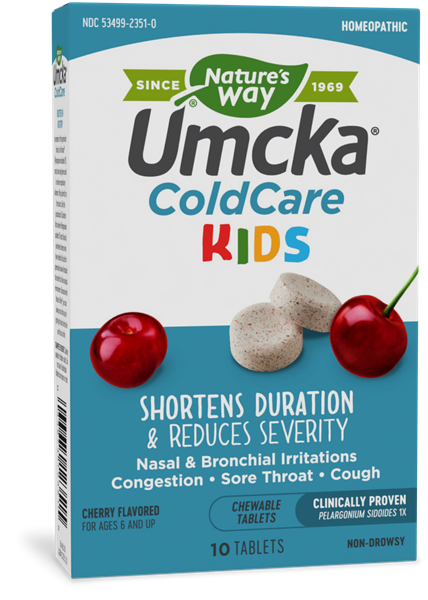 12351 - Umcka ColdCare KIDS Chewable Cherry