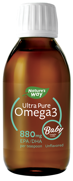 12436 - Ultra Pure Omega3 Baby Unflavored Liquid WFM