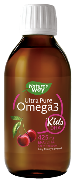12444 - Ultra Pure Omega3 Kids DHA Cherry Liquid WFM
