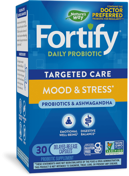 Fortify™ Daily Probiotic Mood & Stress*