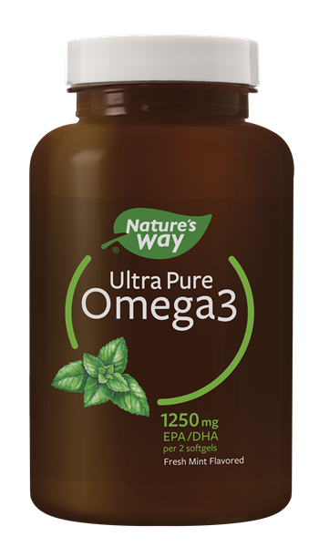 12453 - Ultra Pure Omega3 Fresh Mint 120 Softgels