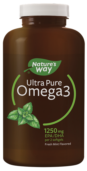 12455 - Ultra Pure Omega3 2x Mint Softgels WFM