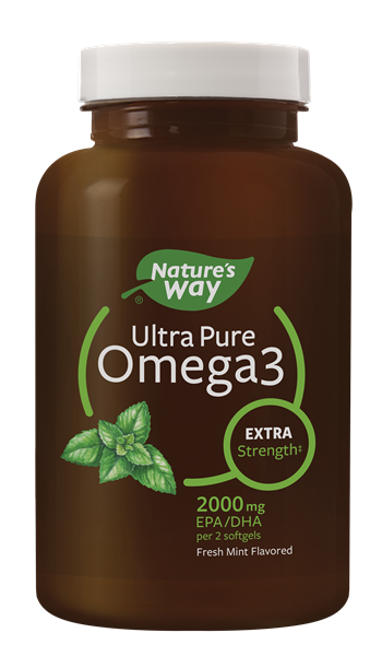 12456 - Ultra Pure Omega3 Extra Strength Mint Softgels WFM