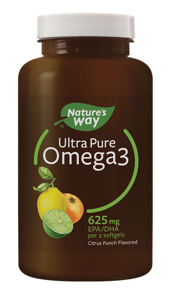 12462 - Ultra Pure Omega3 Citrus Softgels WFM