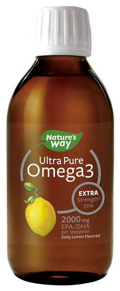 12480 - Ultra Pure Omega3 Extra StrengthEPA Lemon Liquid