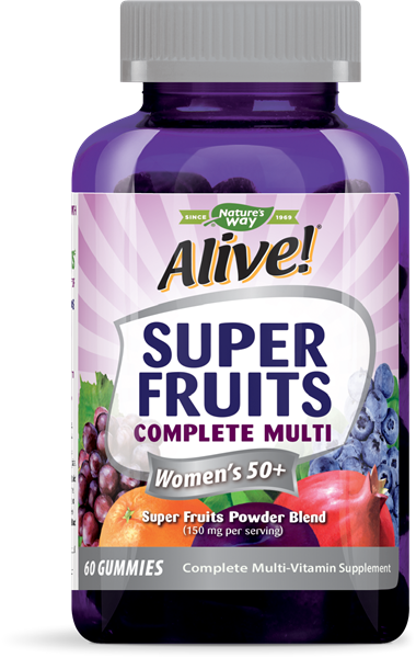 12509 - Alive Super Fruits Womens 50 Multivitamin Gummy
