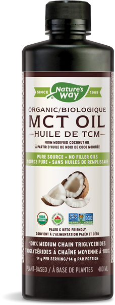Organic MCT Oil   Nature's Way Canada