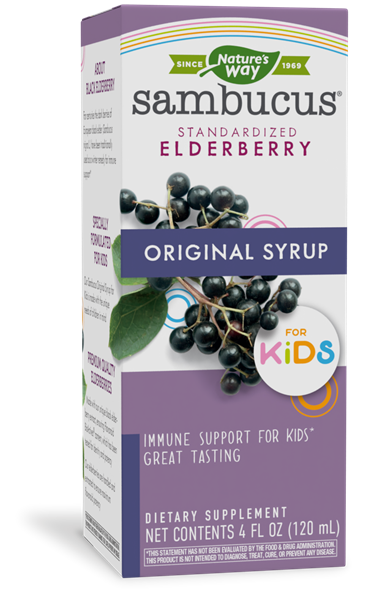 12821 - Sambucus Original Syrup for Kids
