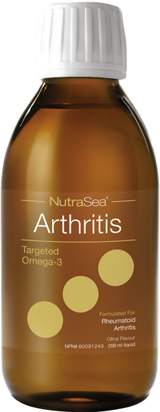 NutraSea® Arthritis Targeted Omega-3, Citrus Flavour