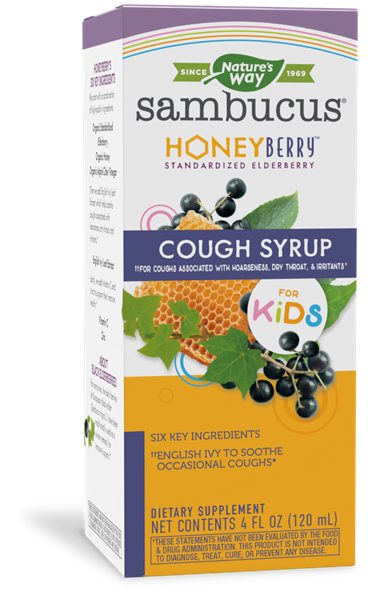 13315 - HoneyBerry Kids Cough Syrup