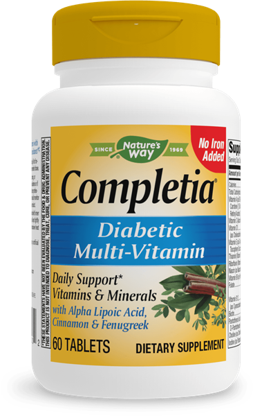 14923 - Completia Diabetic Multivitamin