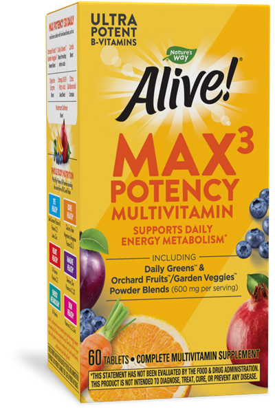 14926 - Alive Max3 Potency Multivitamin
