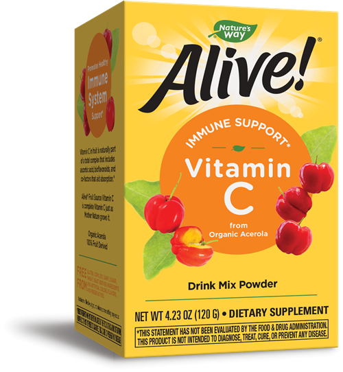 15143 - Alive Vitamin C Powder 120 grams