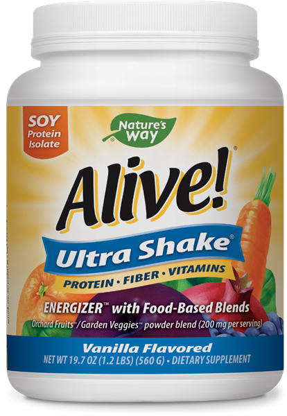 15389 - Alive Ultra Soy Shake Vanilla Flavored