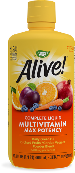15395 - Alive Max Potency Liquid Multi-Vitamin