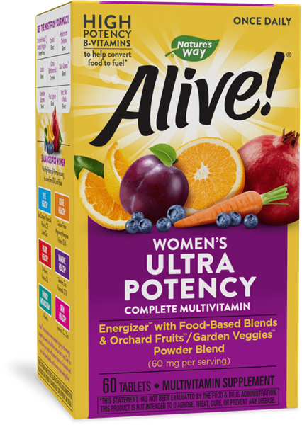 15686 - Alive Once Daily Womens Ultra Potency