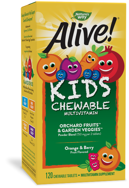15786 - Alive Childrens Multi Chewables 120 ct