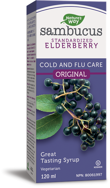 Sambucus Original Cold and Flu Care