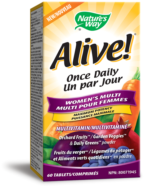 Alive!<sup>™</sup> Once Daily Women's
