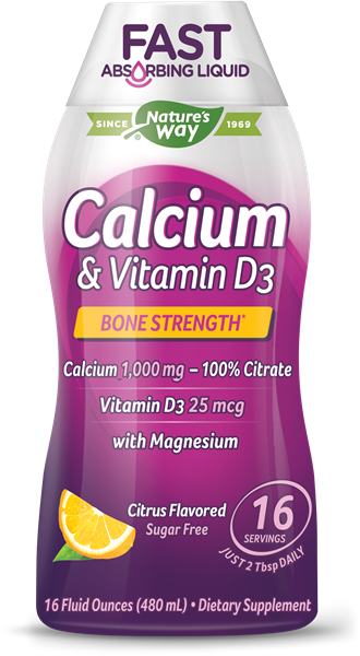 Calcium   Vitamin D3 - Nature s Way®. 2742af86812d3