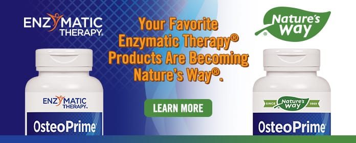 Enzymatic Therapy is now part of Nature's Way