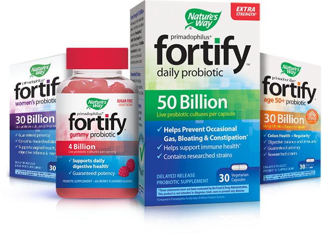 Fortify Probiotics Product images