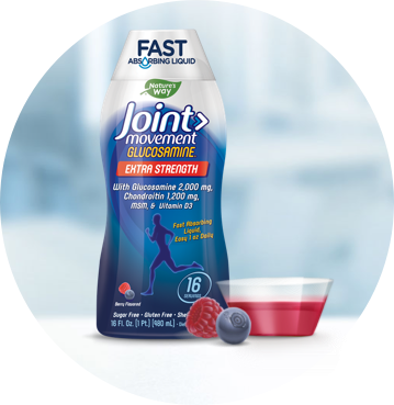 Joint Movement Glucosamine bottle