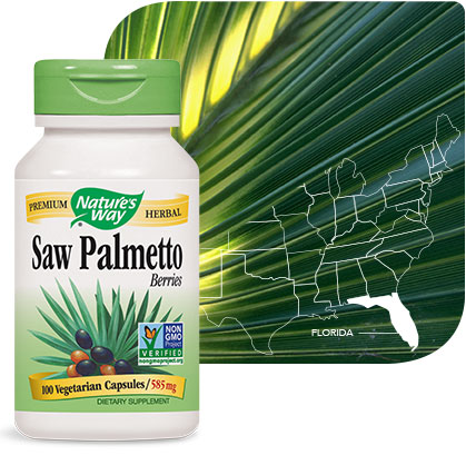 Nature's Way Saw Palmetto bottle
