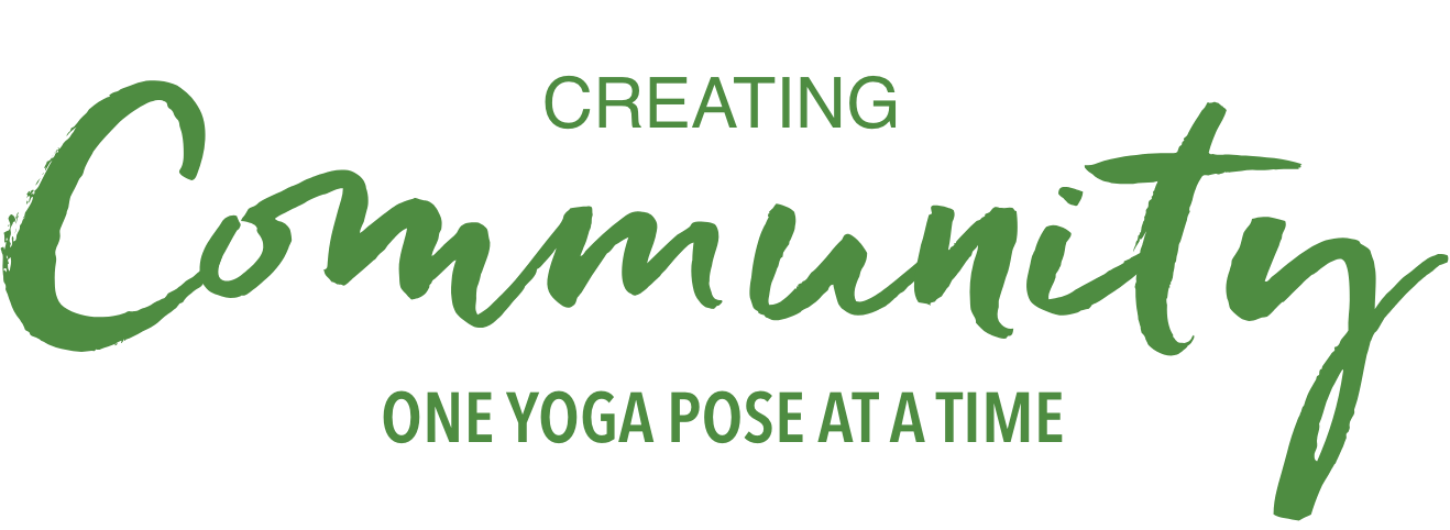 Creating community one yoga pose at a time