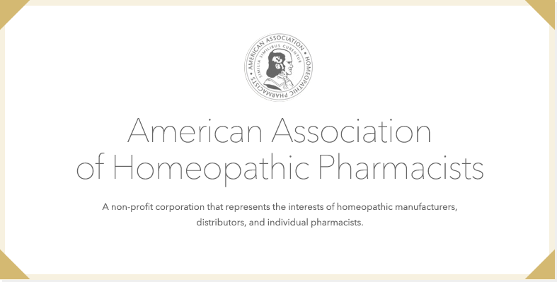 American Association of Homeopathic Pharmacists