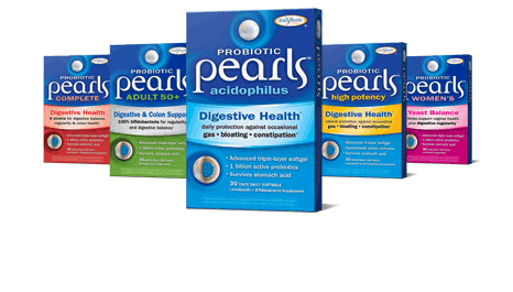 Probiotic Pearls Product Line